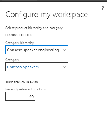 Production Readiness Workspace Configurator