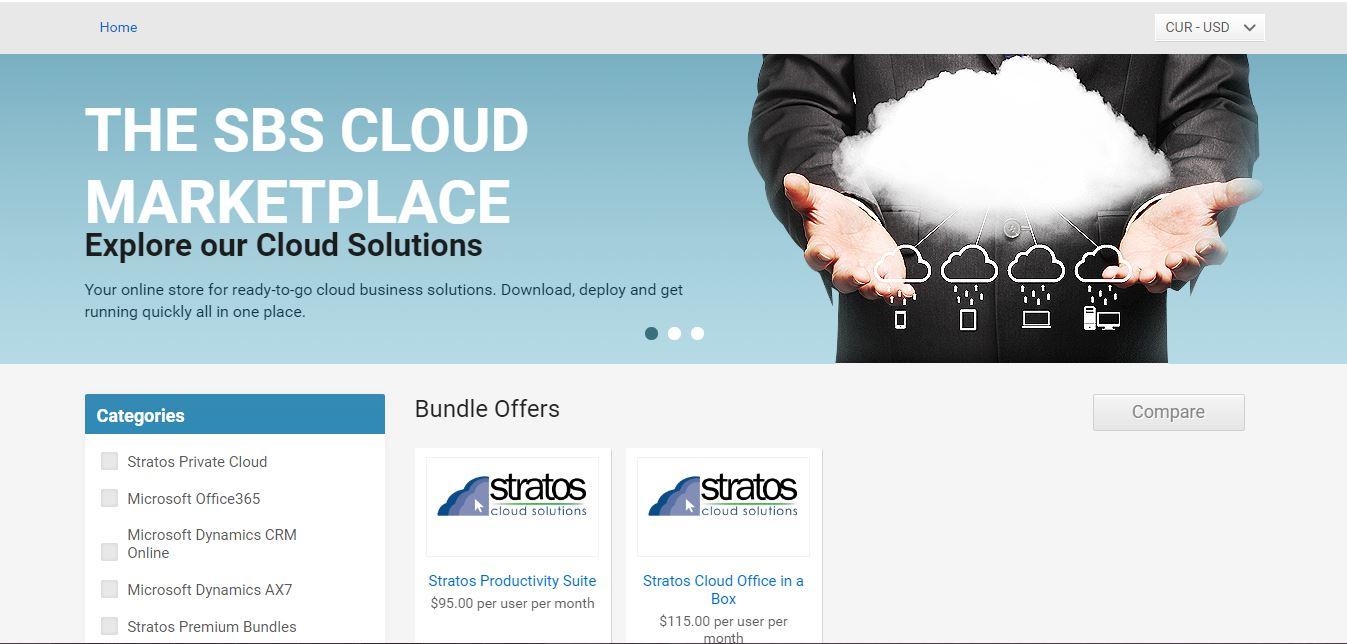 sbs group cloud marketplace