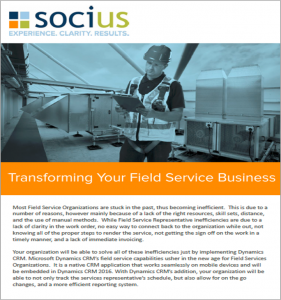 Transforming Field Service