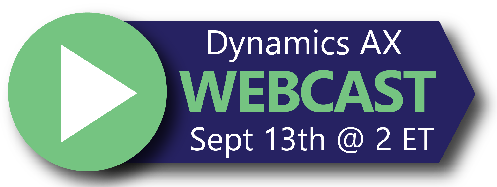 Webcast Registration - Dynamics AX for Professional Services