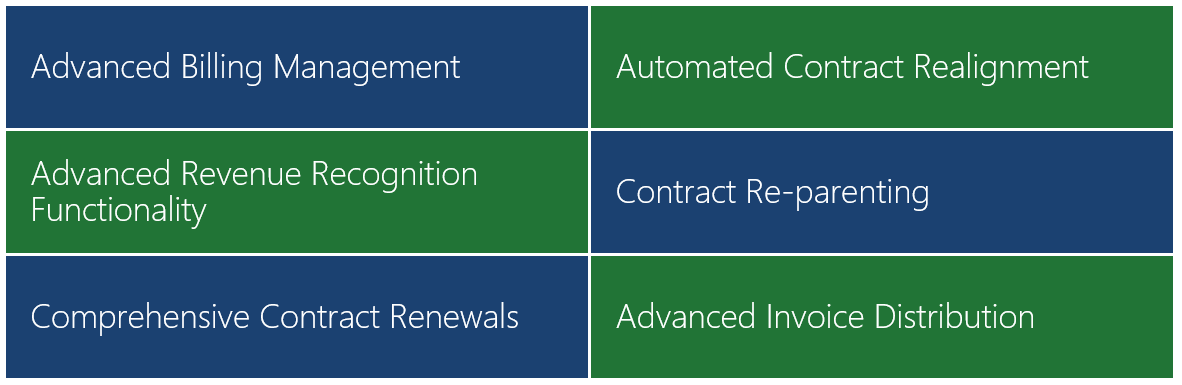 Advanced Billing and Contract Management for Dynamics 365