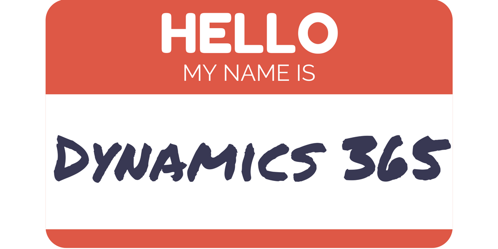 name is dynamics 365