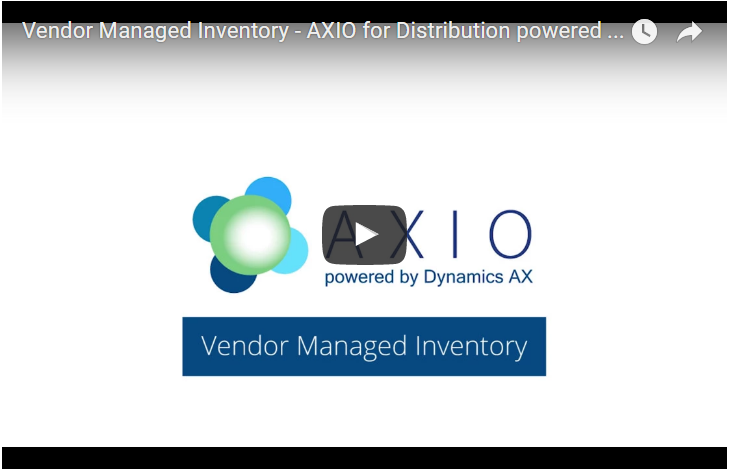 axio vendor managed inventory microsoft dynamics 365