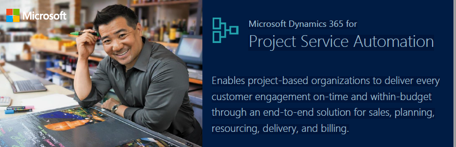 Dynamics 365 for Project Service Automation
