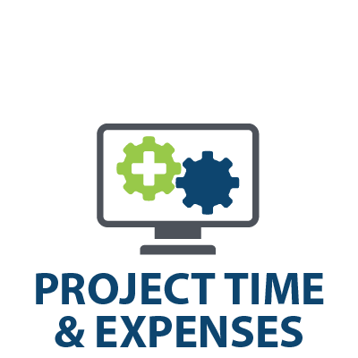 progressus project and time expenses
