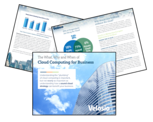 Cloud computing software for business