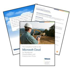 Microsoft Cloud for residential homebuilders