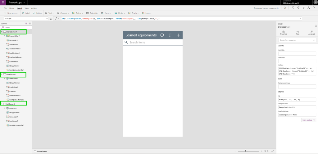 Building apps from SharePoint lists