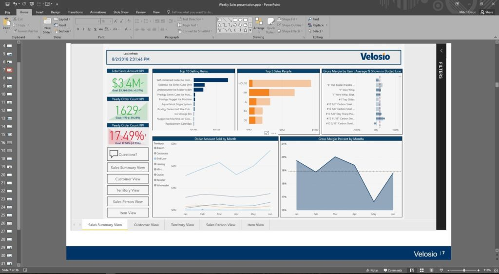 Dynamics GP reporting with Power BI