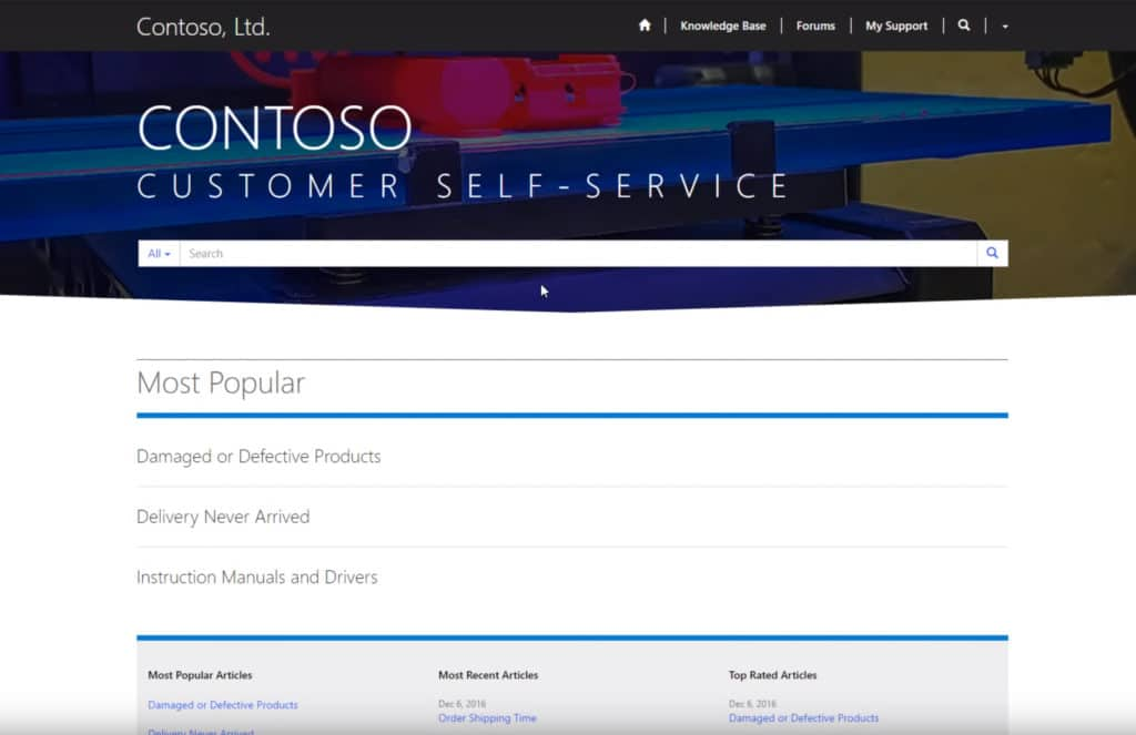 What Is A Dynamics 365 Customer Portal Anyway Dynamics 365 Ce