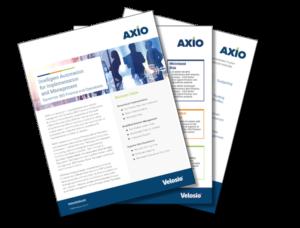 AXIO feature sheet