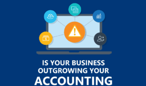 Outgrowing accounting system
