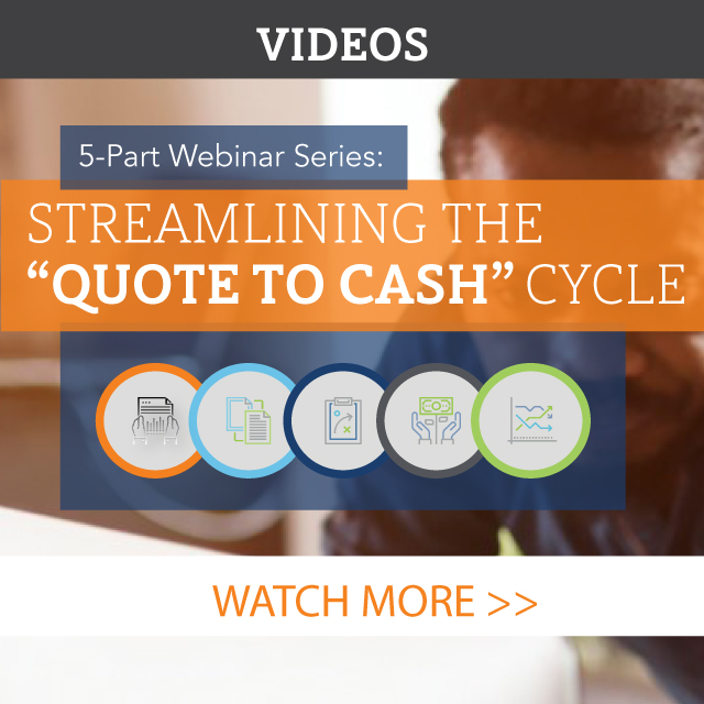 Quote to Cash Series
