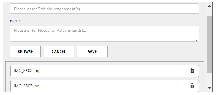 Dynamics 365 CE notes for attachments