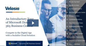 Microsoft Dynamics 365 Business Central demo video