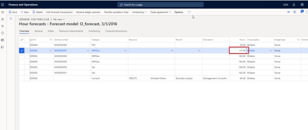 Dynamics 365 Finance new release grid controls