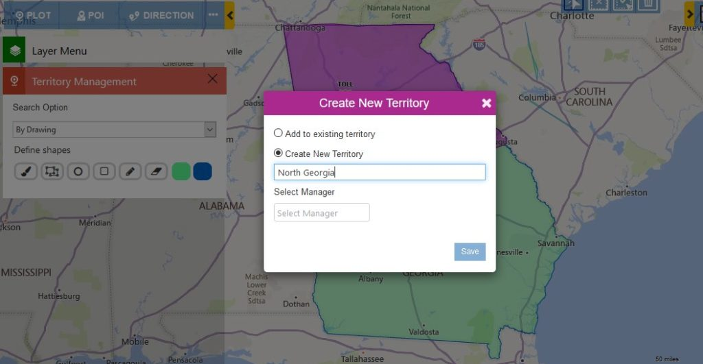 dynamics 365 crm territory mapping