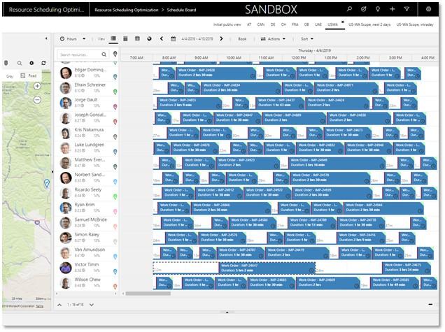 resource scheduling optimization software