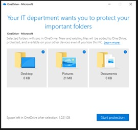 onedrive data protection