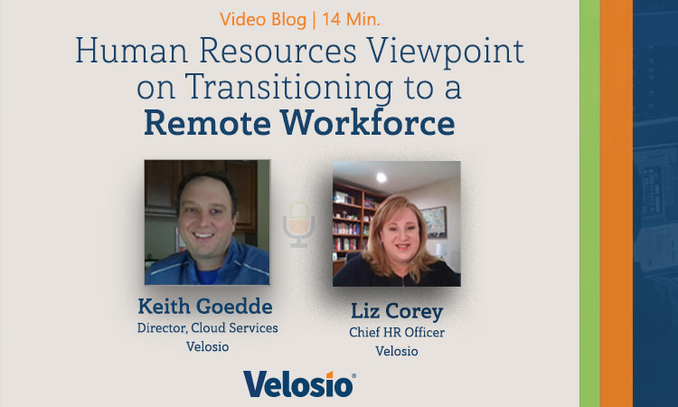 Video Blog on Transitioning for Remote Workers